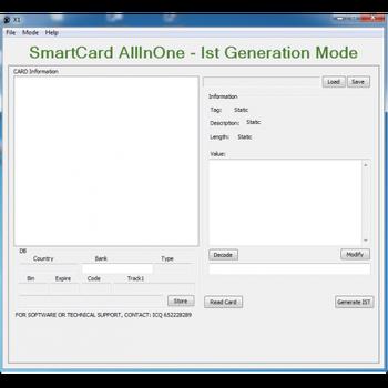 USB -Smart JCOP BlueZ Smartcard reader - driver download software