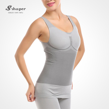 S-SHAPER Seen On TV Tourmaline Bamboo Charcoal Bodysuits Far Infrared Slimming Bodyshaper Mass Slim Tourmaline Panty