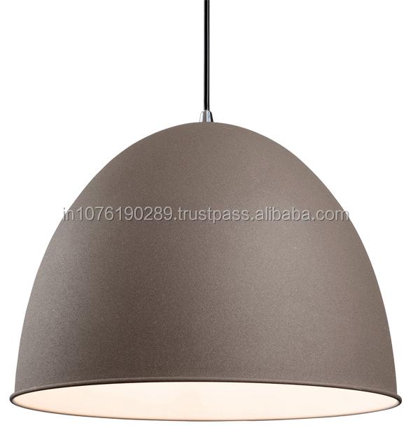 energy saving round indoor metal retro led pendant light