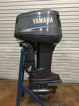 Used yamaha 90hp 90tlr outboard motor 20 inch 90 hp export for Used 90 hp outboard motors