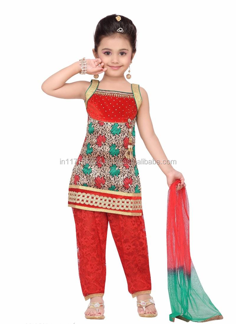 88d48814e Fashion Kids Party Wear Girl Dress - 2016 Cheap India Kids Clothes ...