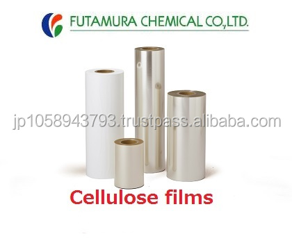 High performance easy tear stick tape cellulose film with multiple functions made in Japan