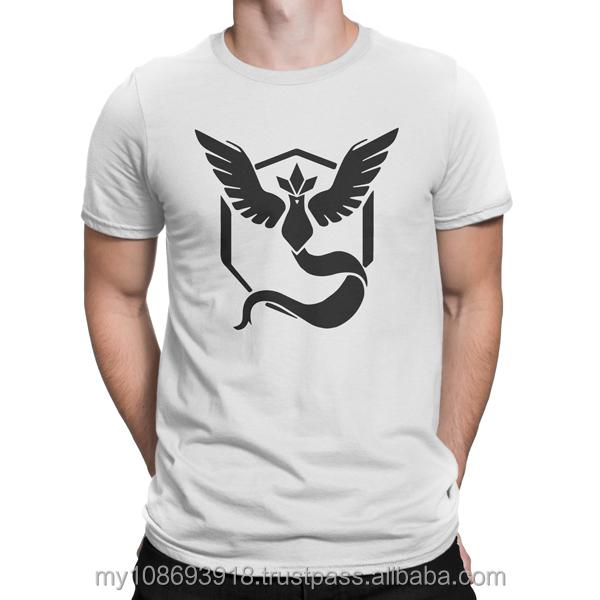 9998fa7c Pokemon Team Mystic Vynal Custom Design Graphic Cotton Men's T-Shirt DTG  Printing ( 3rd batch )
