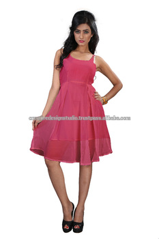 Pink Girl Party Wear Western Dress Buy Fashion Girls Short Frocks Dressmini Dress Sexysexy Short Mini Night Dress Product On Alibabacom