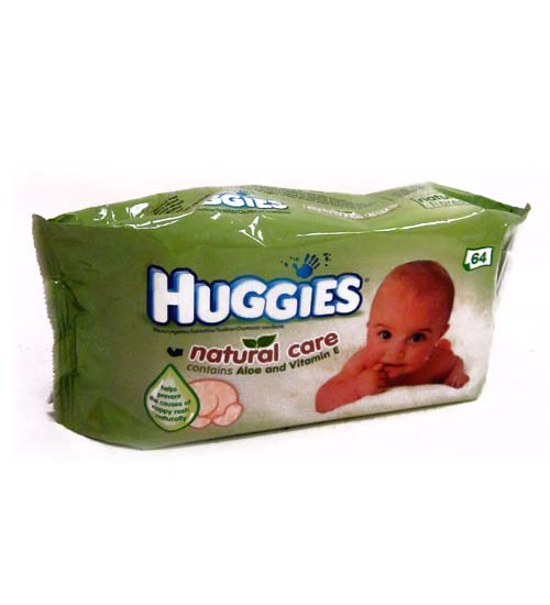 Huggies Wipes Nat. Care 64ct