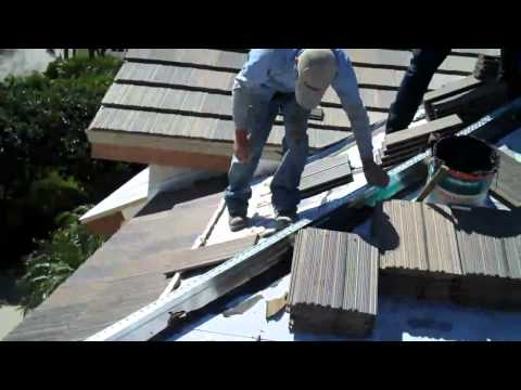 ... Kirkey Roofing Eagle Tile Roof Install