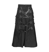 2016 Black Cyber-goth men's skirt by FASHION FC-5913