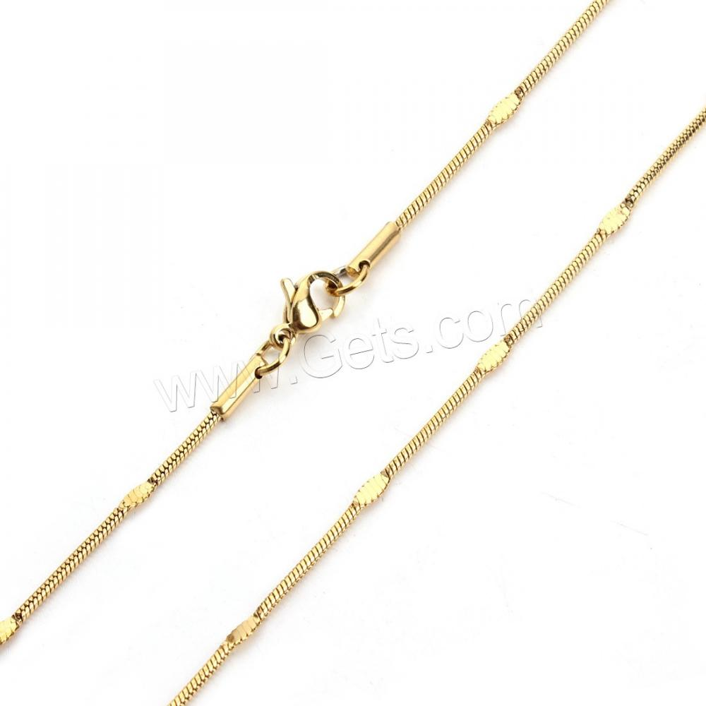 Stainless Steel Chain New Gold Neck Designs Girl Stainless Steel ...
