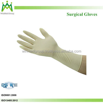 Accept. opinion, latex free surgical gloves