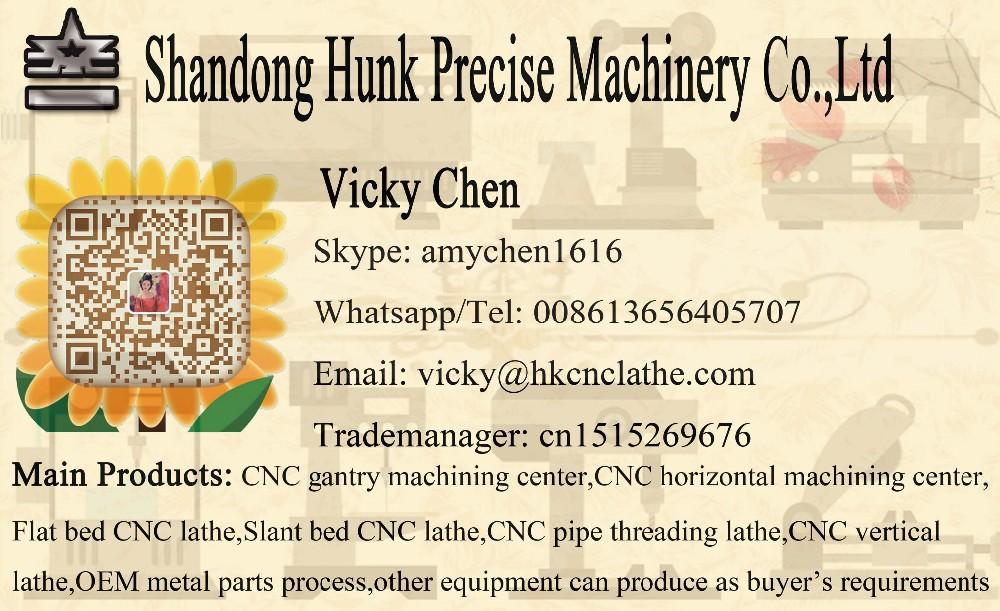 Horizontal CNC turning machine with Siemens CNC machine tool