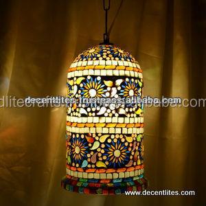Mosaic Hanging Ceiling Pendant Decorative Residential Lamp Lighting Gl Crystal