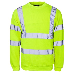 Lon sleeve high visibility work wear t- shirt men