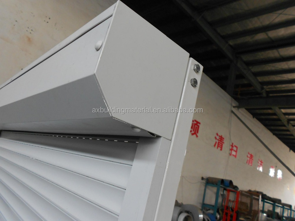 China aluminum alloy roll up shutter windows