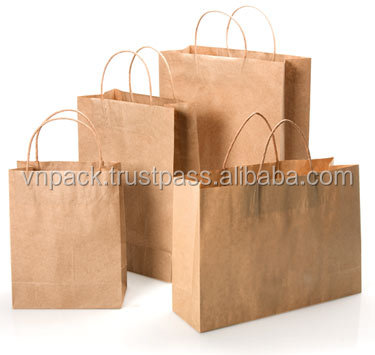 Kraft paper bag sizes