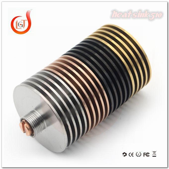 Stainless Steel Heatsink For E Cig,Heat Sink Adapter 510 Finned ...