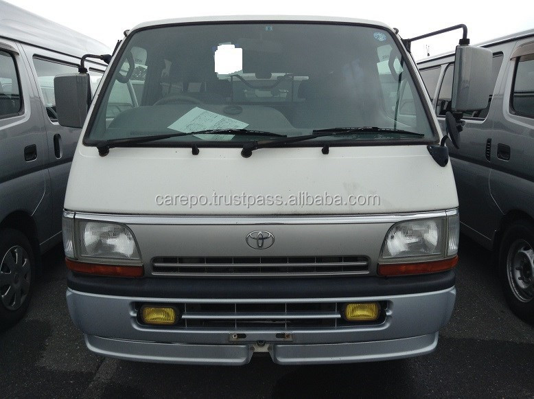 HIGH QUALITY USED CARS FOR TOYOTA HIACE VAN LONG SUPER GL LH113V FOR SALE IN JAPAN