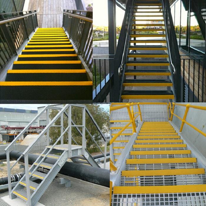 Solid Grit Fiberglass Stair Treads For Marine Steps Buy
