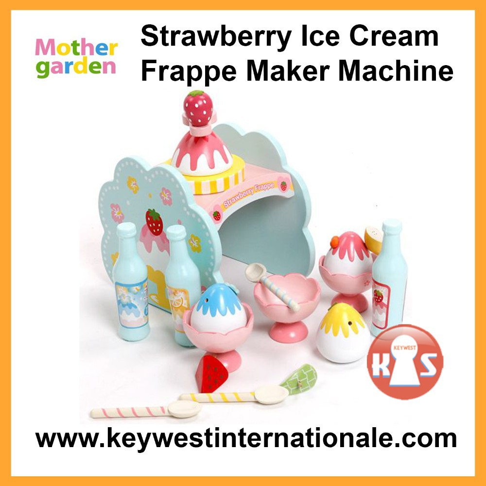Mother Garden Strawberry Ice Cream Frappe Maker Machine