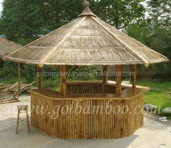 Wholesale Big Bamboo House Bar Bamboo Tiki Bar Hut