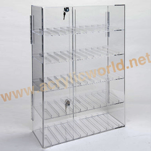 Clear Acrylic e-liquid Display Stand/Point of Sale e-juice Display shelf
