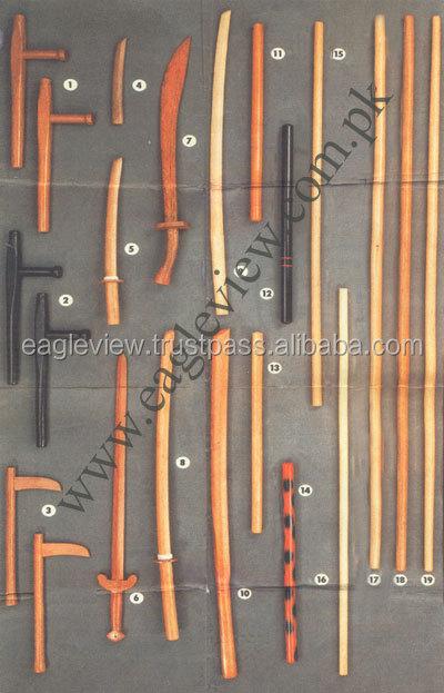 Yawara Sticks Riot Baton Escrima Sticks Customize Wooden