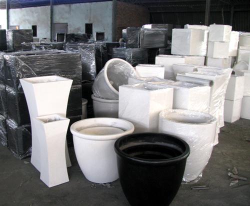 Tuin Potten Groothandel : Groothandel terrazzo ronde planter cement plantenbakken beton