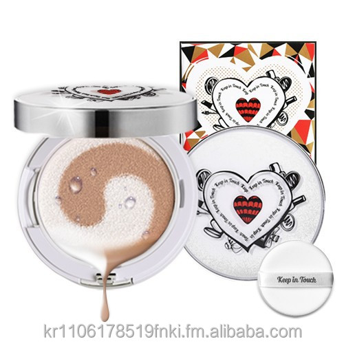 Korea Cosmetic Keep In Touch White Blending Base Cushion