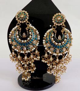 f136ac7cf Punjabi Bridal Earring Wholesale, Earring Suppliers - Alibaba