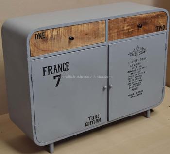 Industrial Vintage Sideboard Buy Industrial Metal Iron Sideboard Industrial Sideboard Metal Furniture Distressed Sideboards Product On Alibaba Com