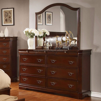 New Simple Designs Modern Bedroom Dresser Furniture Wooden