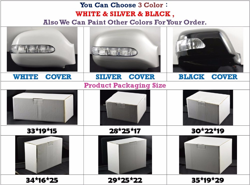 Car Body Parts For Mazda Scrum Led Side Rear View Mirror Cover ...