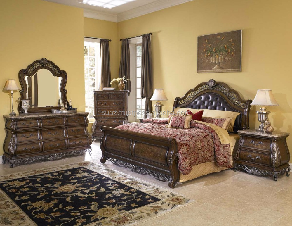 Pakistan Hand Carved Bedroom Furniture Sets Price Solid Cherry Wood Bedroom Set Brown Luxurious King Bedroom Furniture Sets Buy Luxury Royal Bedroom Furniture Set Solid Teak Wood Bedroom Furniture Set Beige Bedroom Furniture Set Product