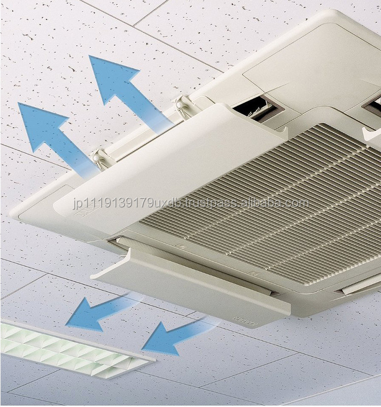 One touch mounting AC air deflector , air conditioning diffuser used all season