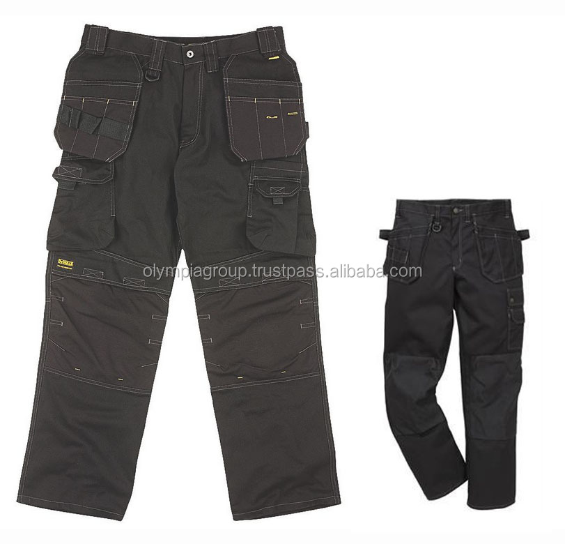 Heavy Duty Cordura Work Trouser With Holster Pocket