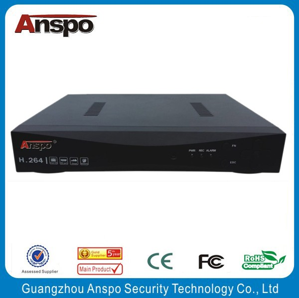 Guangzhou Anspo 4 Channel HDMI DVR High Performance Digital Video Recorder