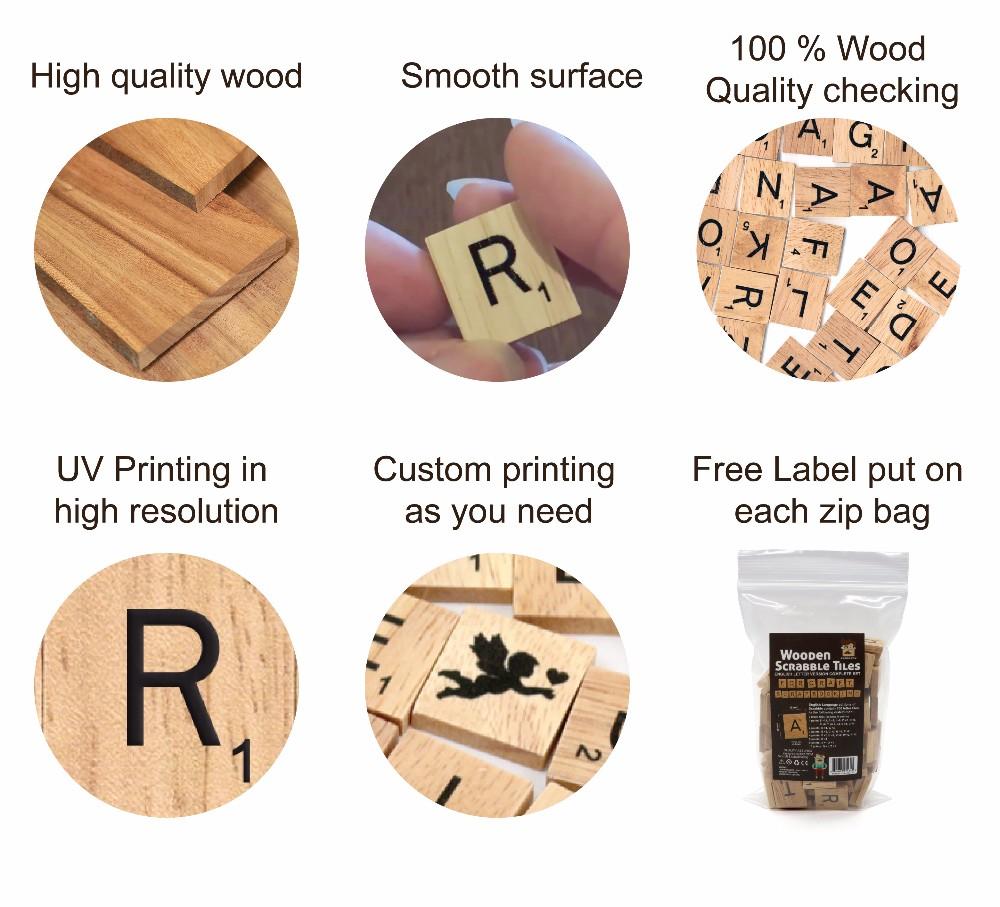 How to put scrapbook paper on wood - Wooden Scrabble Scrapbook Paper Board Cheat 100 Letter