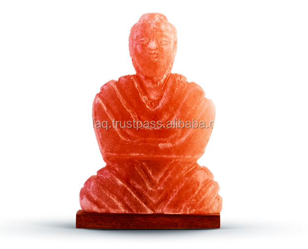 Buddha Figure Shape Himalayan Salt Lamp Buy Himalayan Decoration Salt Lamp Himalayan Rock Salt