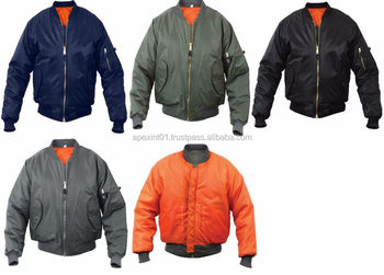 Ma-1 Flight Jacket-bomber Man Jacket Wholesale In Different Colors ...