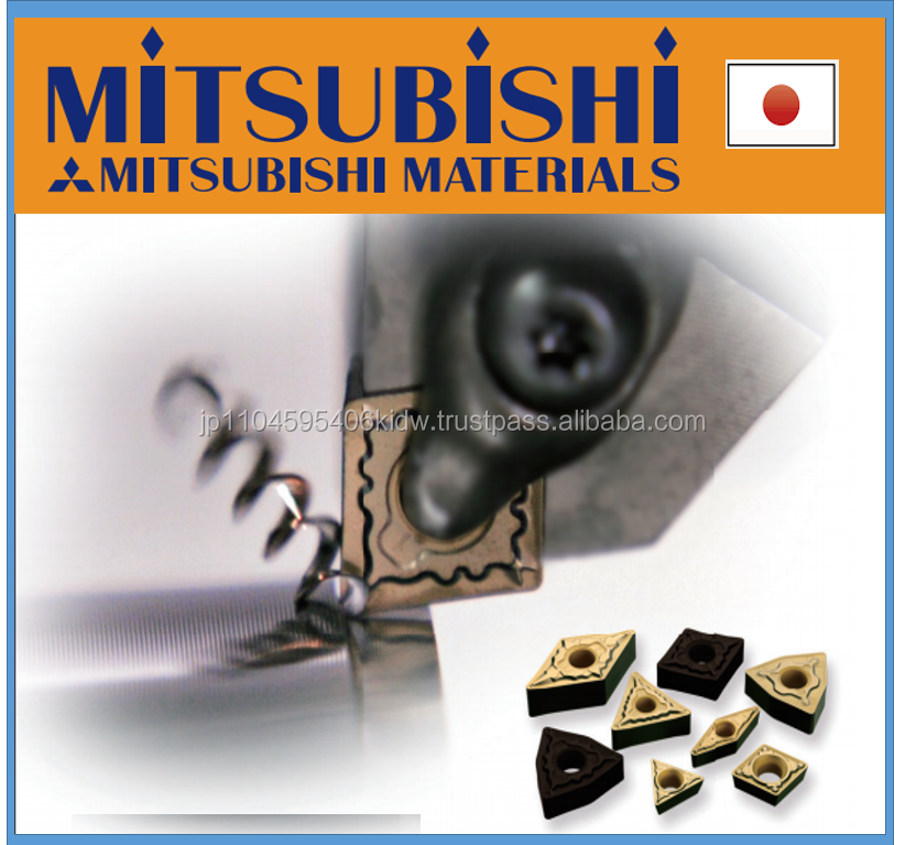 Easy to operate and High quality square thread Mitsubishi insert for high speed cutting