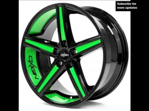 Green Alloy Wheels | Picture Collection Of Modern Rims And Tires For Cars & Vans
