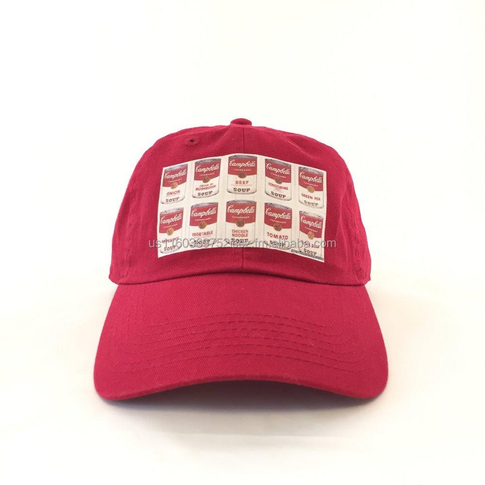 Tomato Soup Warhol Urban Streetwear Polo Style Hat Dad Cap - Buy ... 21f88c0031f