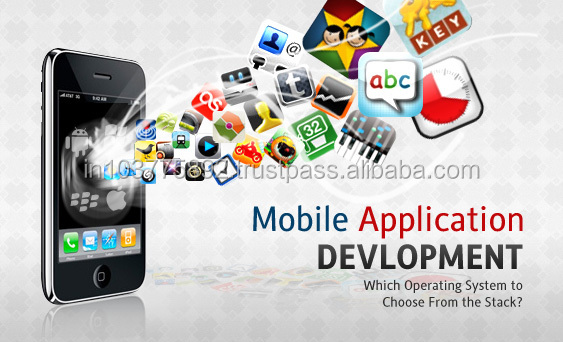 Web development software Mobile Application designing and development
