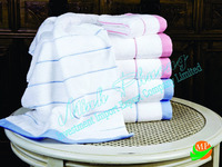 100% cotton Spa Towel sheets with hand embroidery with factory price