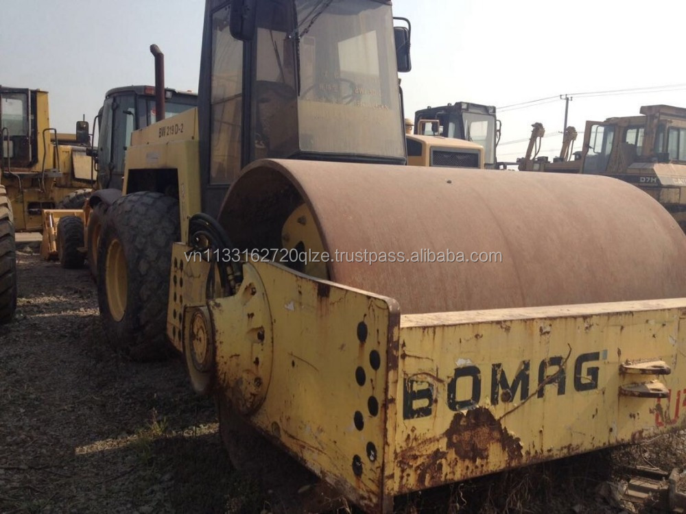 used bomag roller Bomag BW 219D used constructionb machine