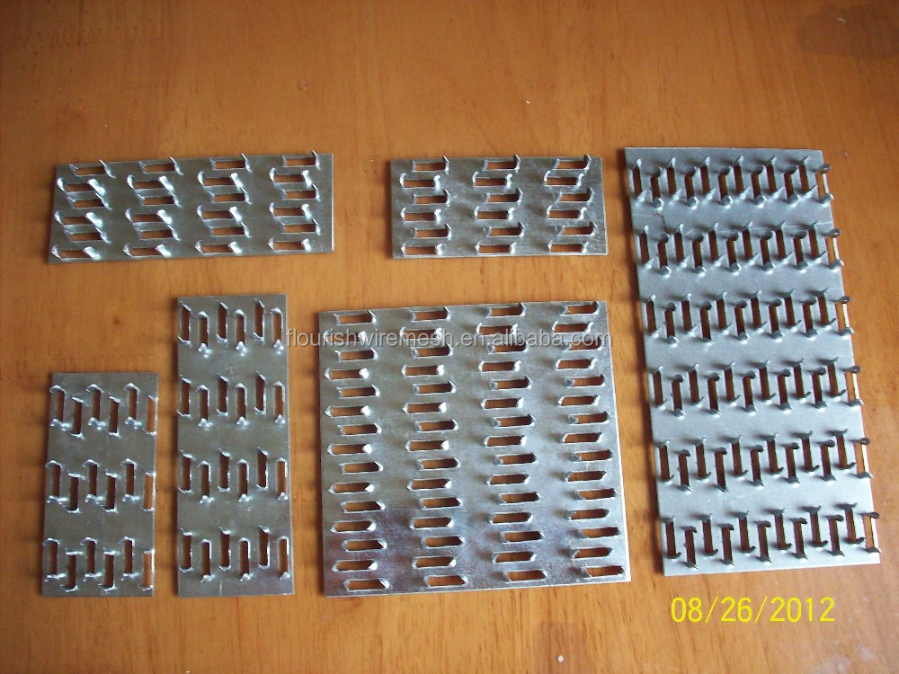 1 Mm Thick Galvanized Gang Nail Plate For Timber Connector For Wood ...