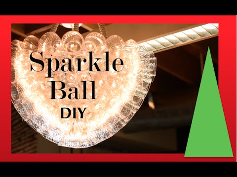 Christmas Decorations |  Sparkle Ball Demonstration | Really Cool Christmas Decoration