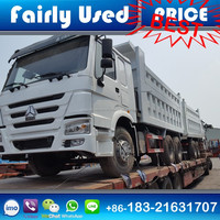 New Arrival White HOWO 336Hp 6x4 dump truck for sale