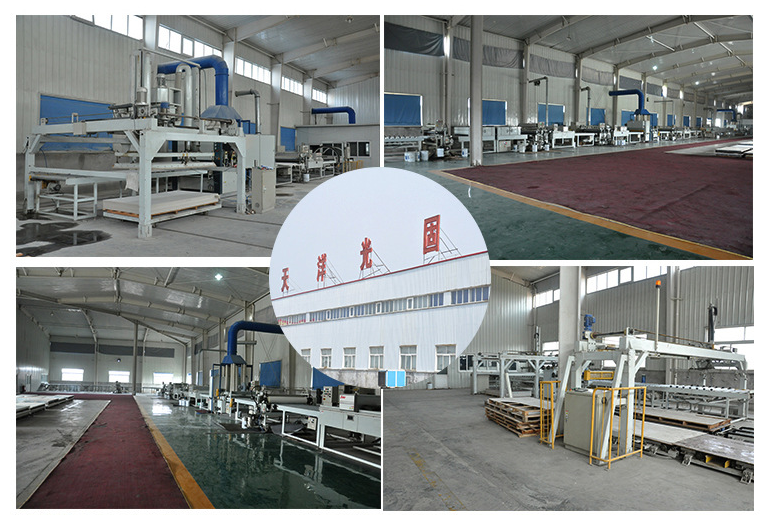 Factory of Decorative Wall Panels for Outside Decoration
