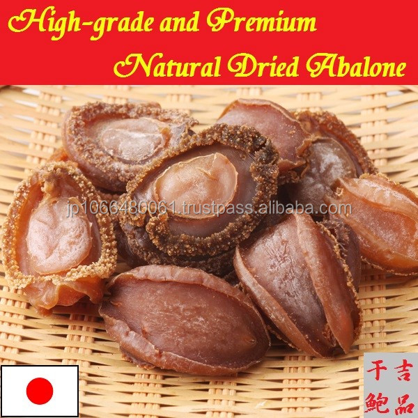 Natural and High grade Dried Abalone for seafoods and frozen food for professional use