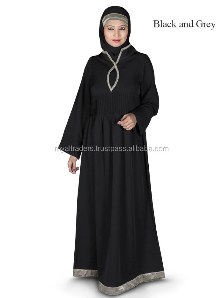 Encuadre de cuerpo entero Abayas Islámicos Ropa Vestido de Dubai ...